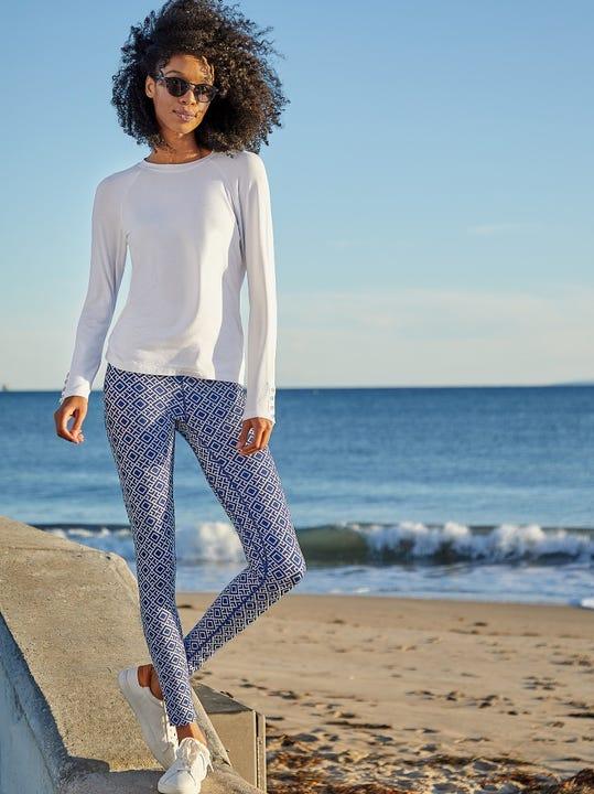 Libby Leggings in Diamond Quilt