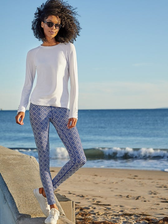 Libby Leggings in Diamond Quilt