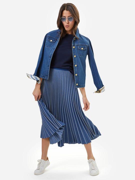 Paola Midi Skirt