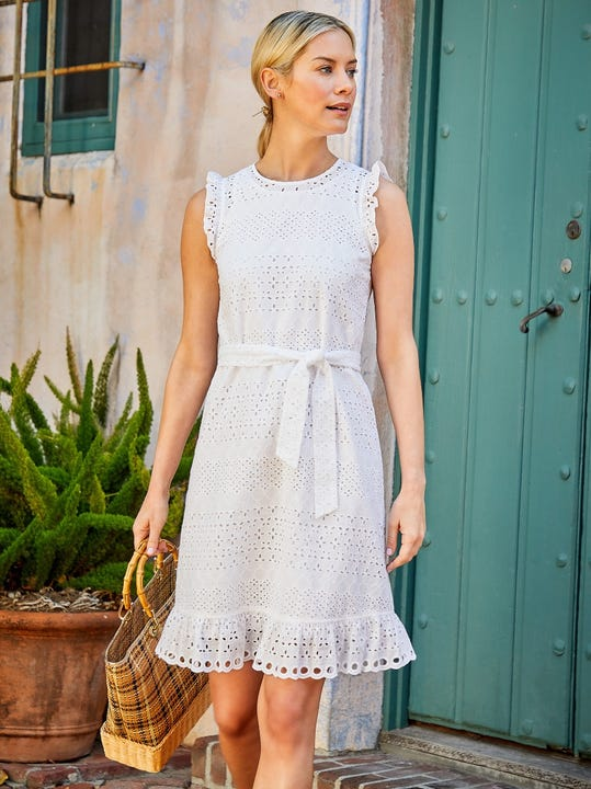 Zita Eyelet Dress