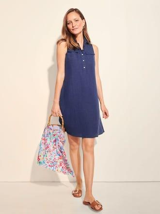 Aberdeen Linen Dress