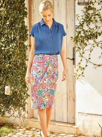 Blakely Skirt in Freshfield