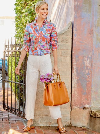 Lois Shirt in Jardinia