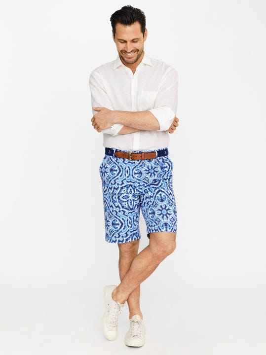 Oliver Shorts in Elba Paisley