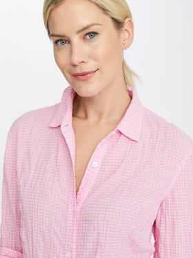 Lois Shirt in Small Gingham
