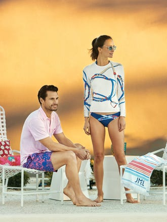 Malibu Halter Bikini Top in Monterrey Belt