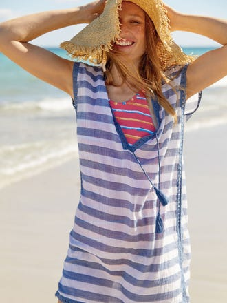 Marta Kaftan in Stripe