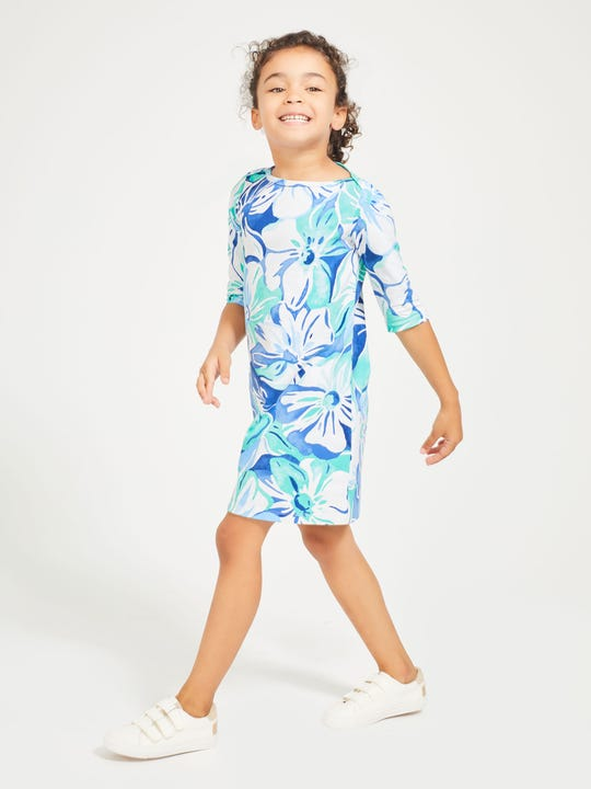 Girls' Mari Dress in Orchidia