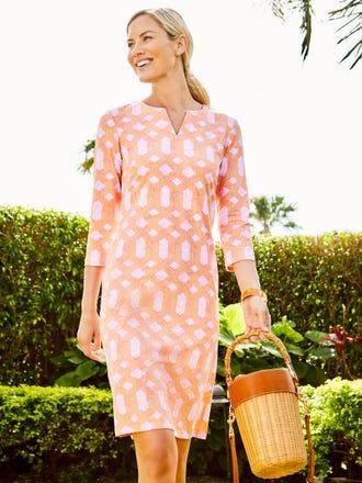 Carly Dress in Mini Cabana