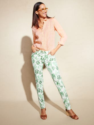 Lexi Jeans in Beaumont Leaf