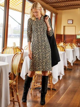 Terin Dress in Tigre