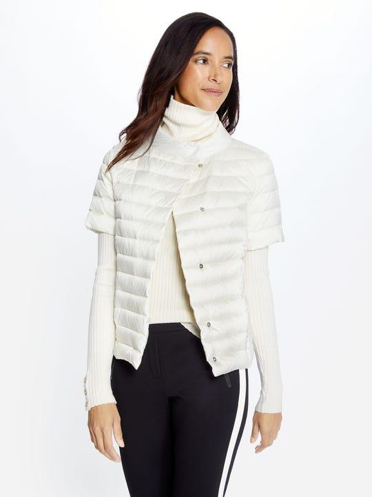 Amira Short Sleeve Down Jacket