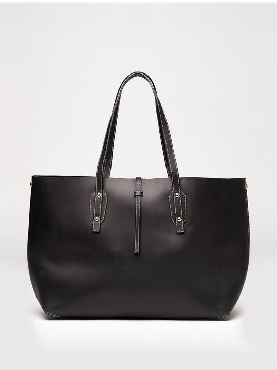 Annie Leather Tote