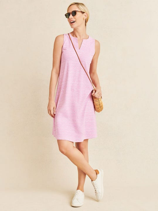 Ellison Dress in Seawall