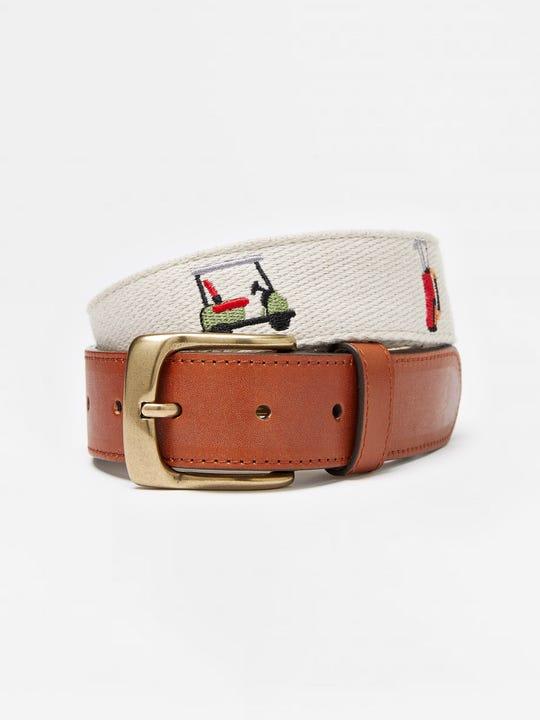 Ashton Embroidered Belt in Golf Bag