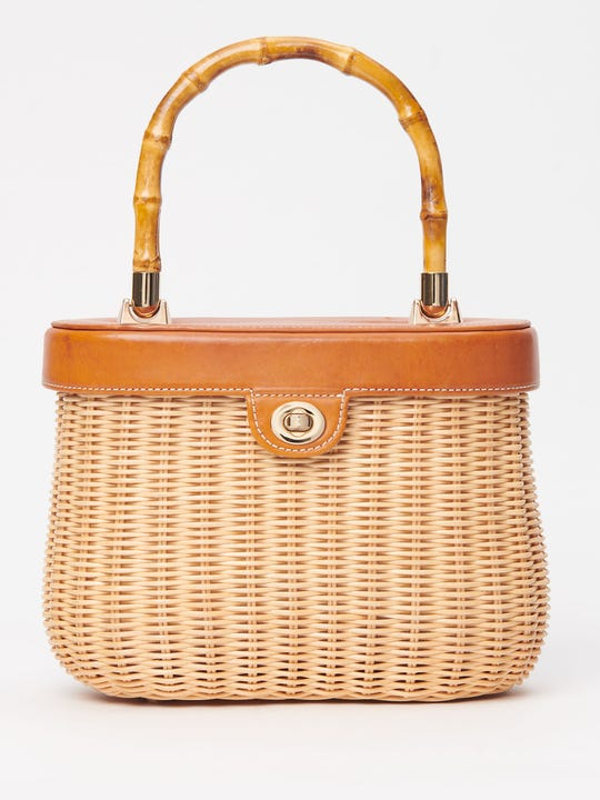 Ava Wicker Bag