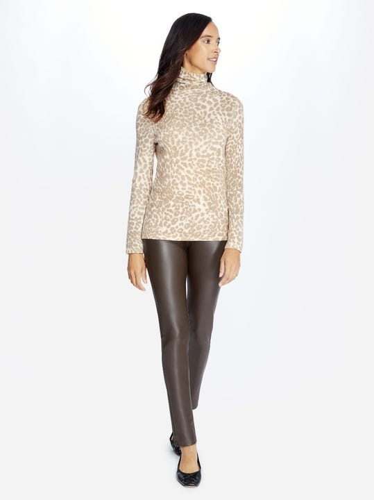 Becca Faux Leather Leggings