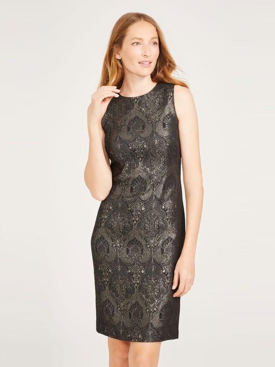 Belinda Dress in Zahara Jacquard