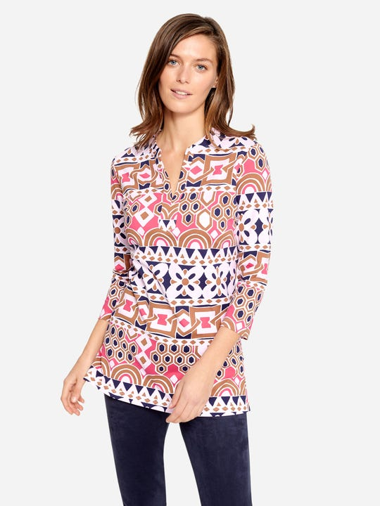 Boca Tunic in Avery Geo
