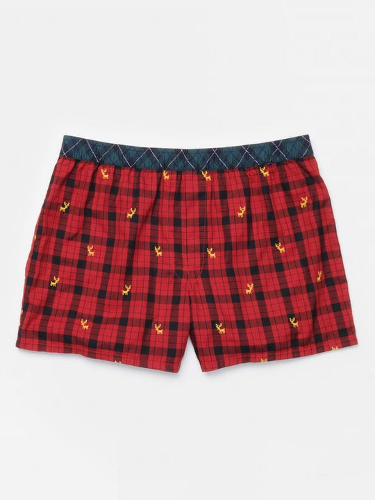 Boxers in Plaid