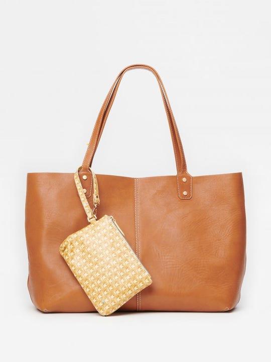 Anna Leather Handbag