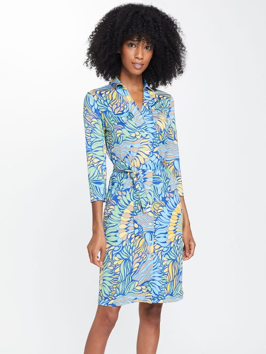 Brynn Dress in Terre Floral