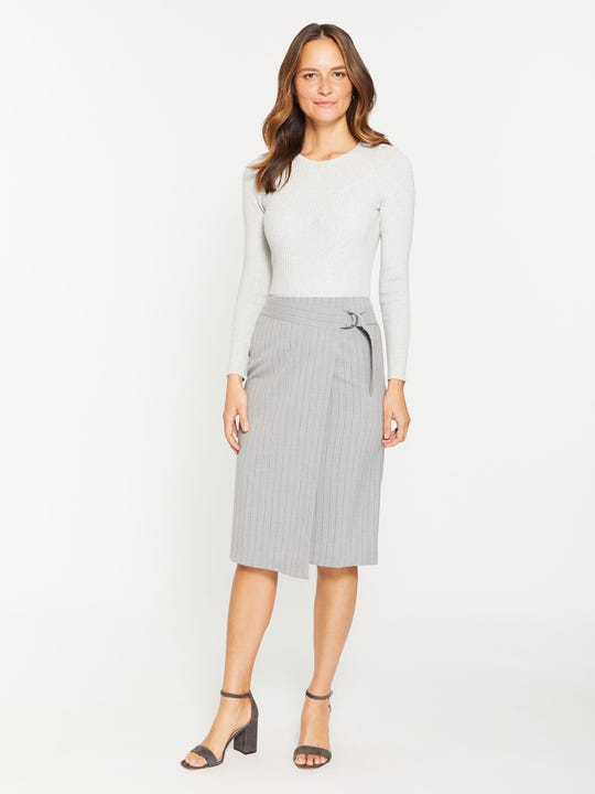 Cambria Skirt in Stripe