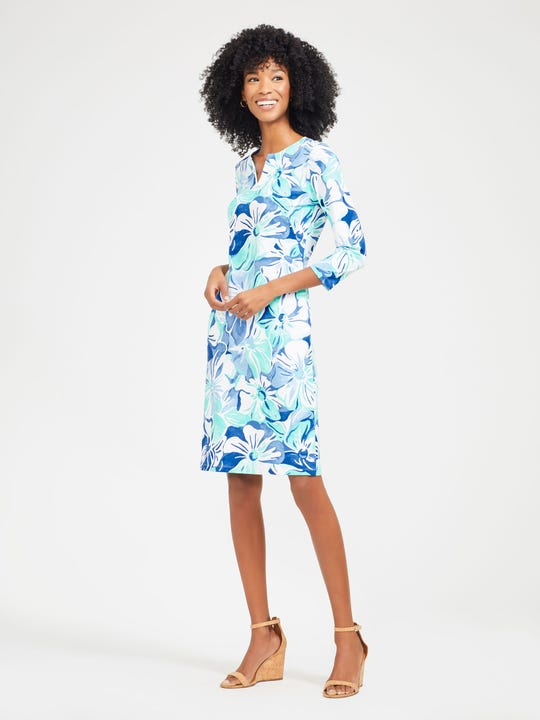 Carly Dress in Orchidia