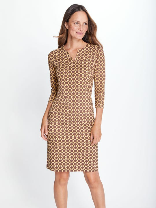 Carly Dress in Raising Cane
