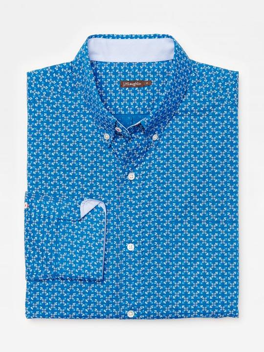 Carnegie Classic Fit Shirt in Mini Floral