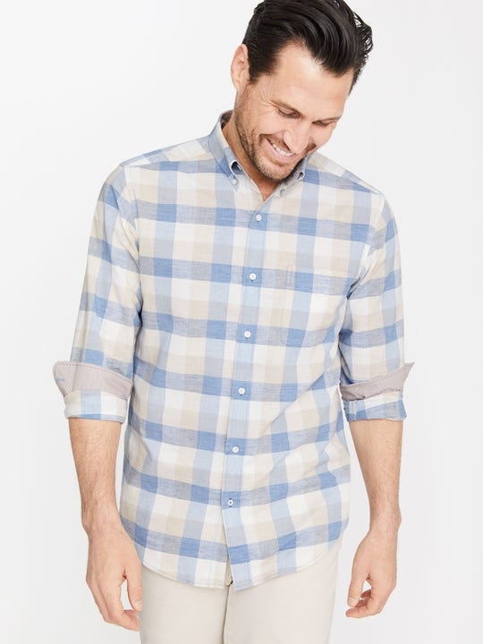 Carnegie Classic Fit Shirt in Check