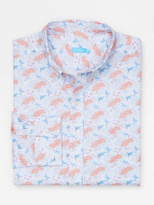 Carnegie Classic Fit Shirt in Mini Daisy