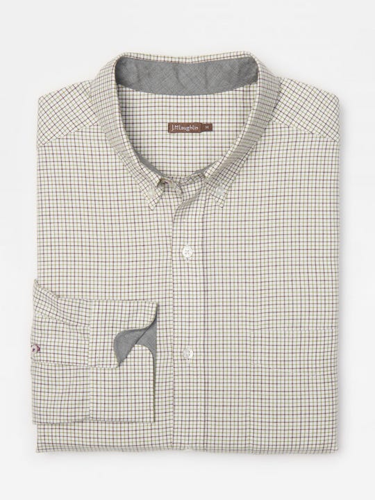 Carnegie Classic Fit Shirt in Tattersall Check