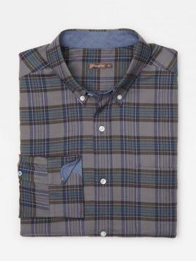 Carnegie Classic Fit Shirt in Plaid