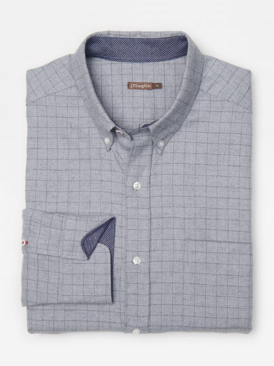 Carnegie Classic Fit Shirt in Window Pane