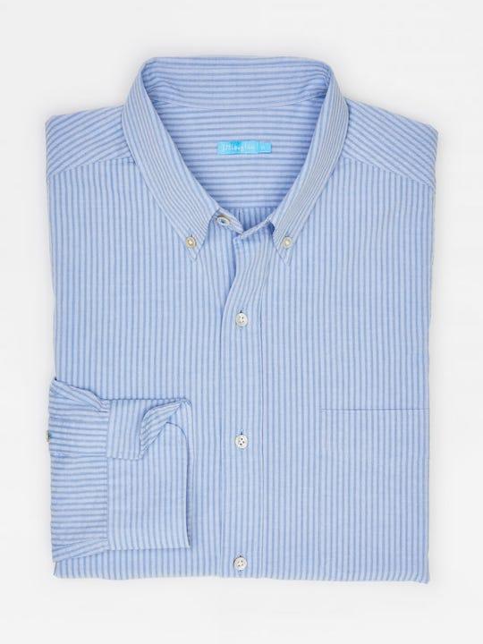 Carnegie Classic Fit  Shirt in Stripe