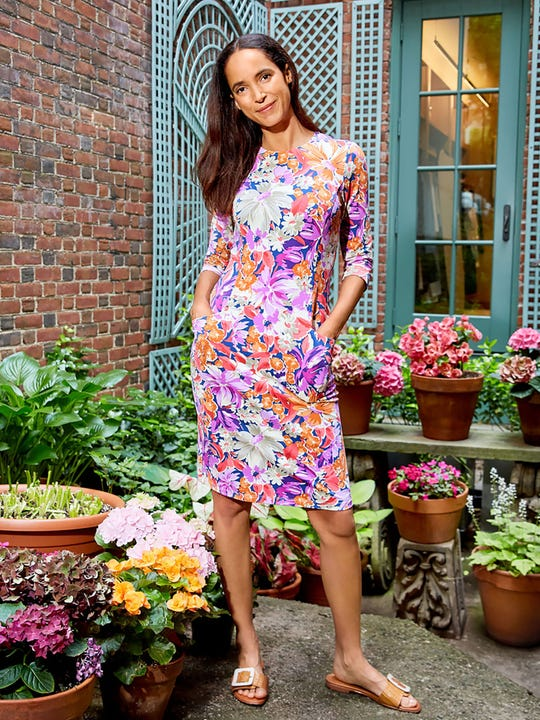Catalyst Dress in Palmer Floral