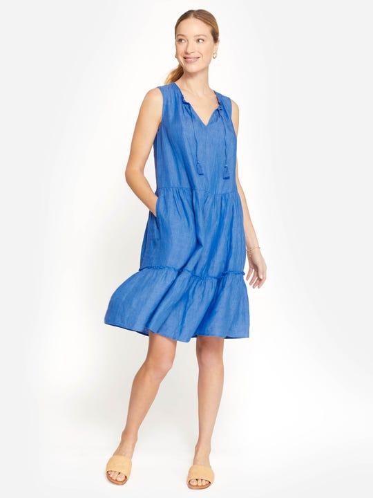 Christa Linen Dress