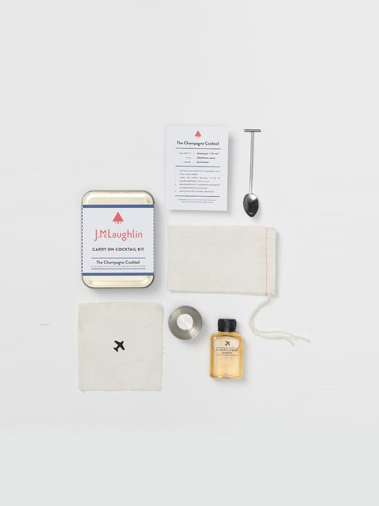 The Champagne Carry On Cocktail Kit