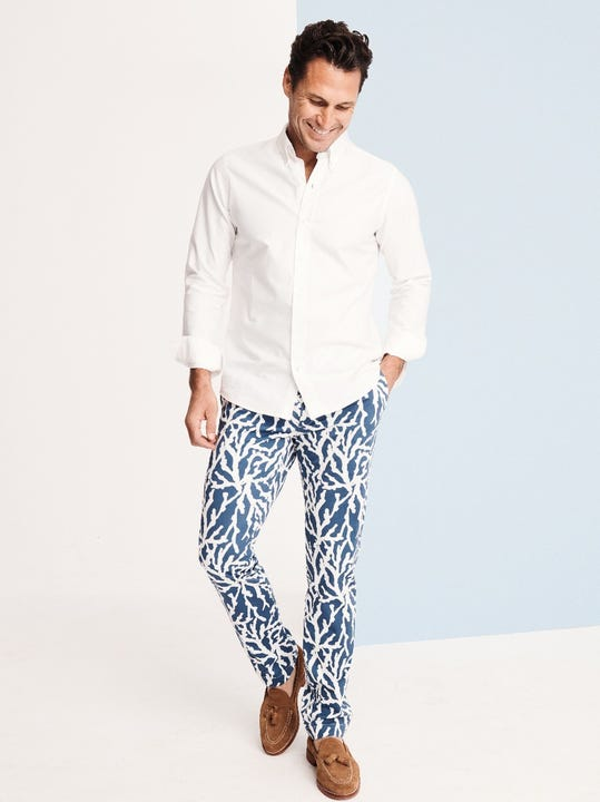 Lukas Pants in Marine Forest