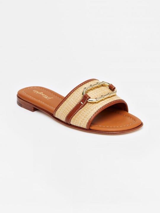 Ethel Grasscloth Sandals