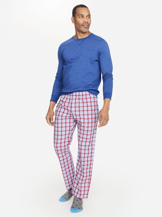 Evergreen Pajama Pants in Window Pane