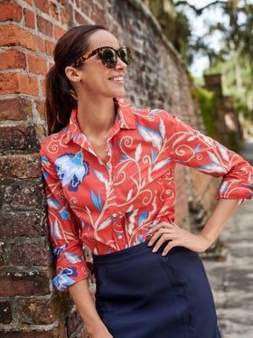 Lois Shirt in Lilywood