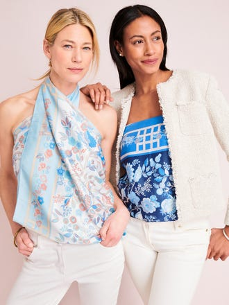 Gemma Scarf in Sucre Blossom