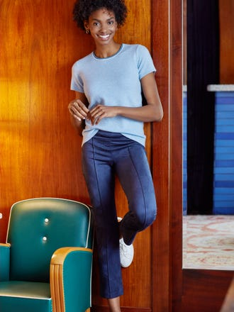 Holly Short Sleeve Cashmere Sweater