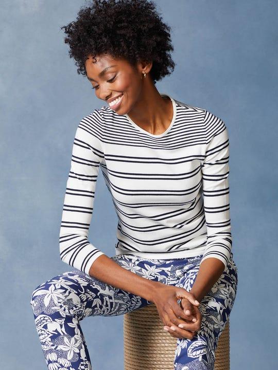 Poet Sweater in Stripe