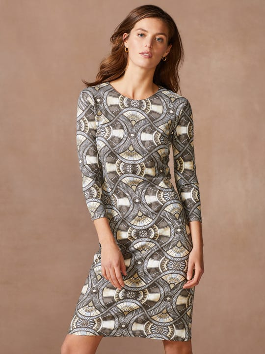 Devon Dress in Landsdale