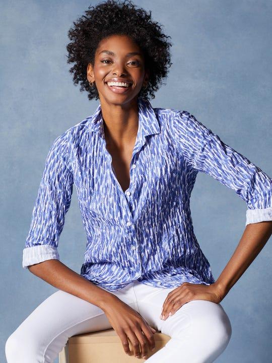 Lois Shirt in Paintstroke