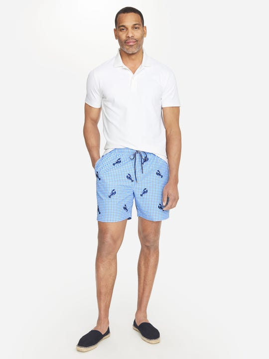 Gibson Swim Trunks in Lobster