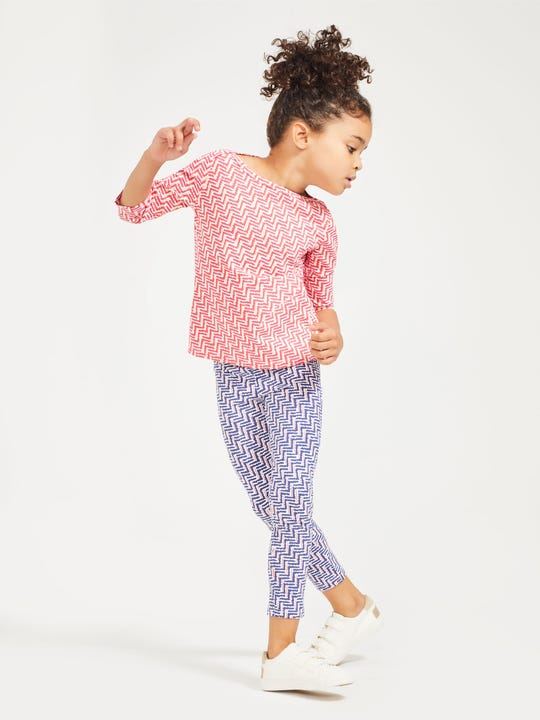 Girls' Jojo Leggings in Checkson